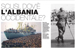 L'Albania di ieri nella Libia di oggi