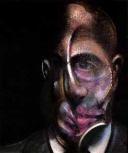 Ritratto di Michel Leiris di Francis Bacon