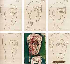 """Picasso, """"Leiris"""""""