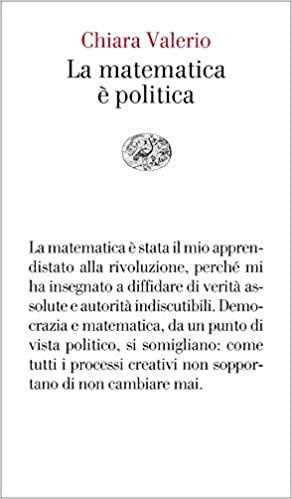 Chiara Valerio, la matematica è politica