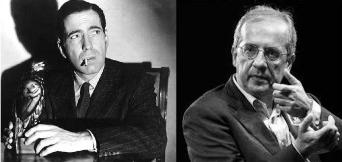 Humphrey Bogart e Walter Veltroni