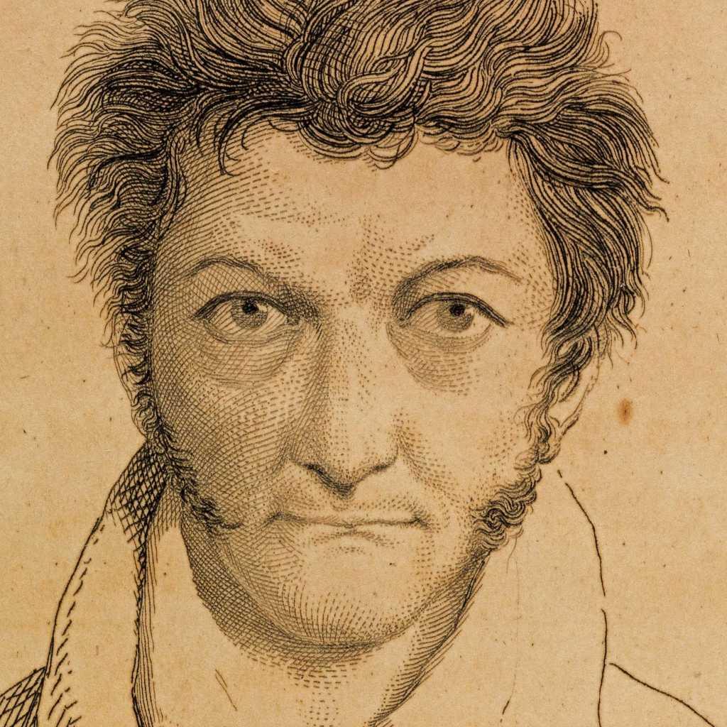 Autoritratto E. T. A. Hoffmann, Berlin, 1808 Staatsbibliothek Bamberg