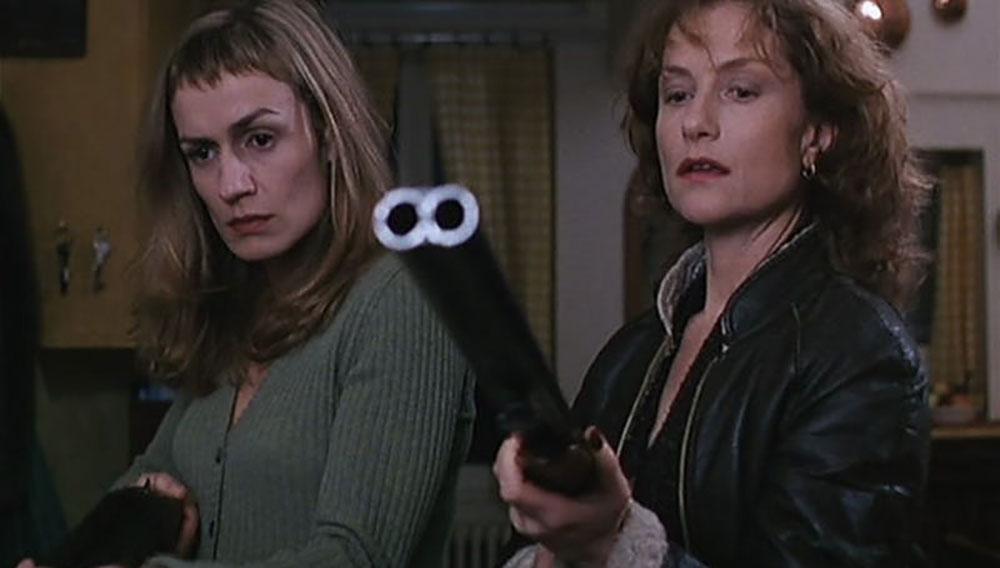 Sandrine Bonnaire e Isabelle Huppert (Claude Chabrol, La cérémonie, 1995)